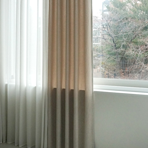 (피톤치드) FRANCO BEIGE CURTAIN